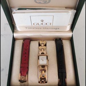 Gucci 1800L Vintage Ladies QUARTZ Watch